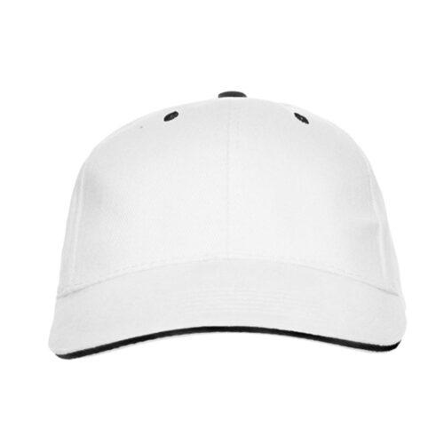 Καπέλο panel λευκό διαφημιστικό